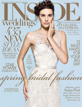 Inside Weddings Cover Spring 2015