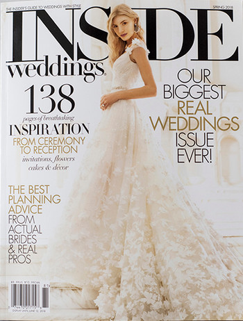 Inside Weddings Spring 2018 Cover