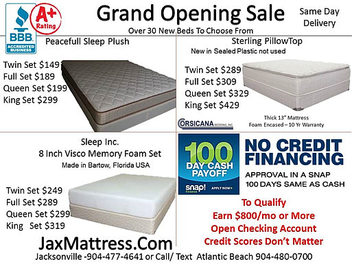 Jacksonville Lowest Price Bedding On Short Queen Mattress For Rv Boats And Campers