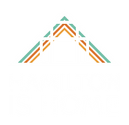 Hamilton is Home stacked logo