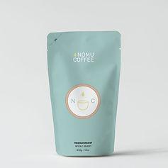 nomu coffee package design
