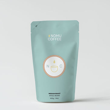 nomu coffee package design