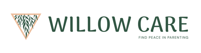 Willow Care Logo with tagline