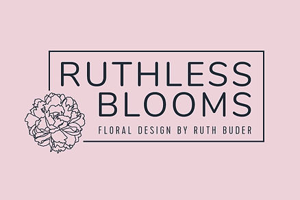 Ruthless Blooms brand identity