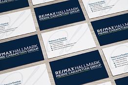 pierre carapetian business card design