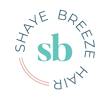 Shaye Breeze Hair badge logo mix