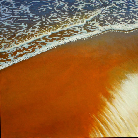 Sparkling Sand at Water's Edge