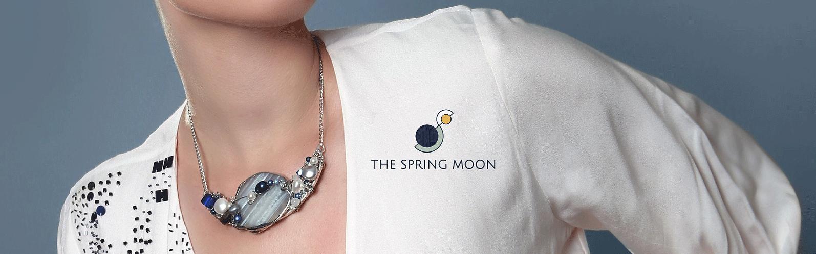 the spring moon brand identity