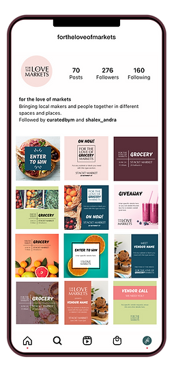 FTLM social grid and templates
