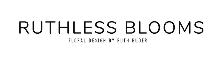 Ruthless Blooms Wordmark