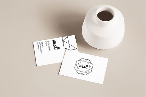 nest business card design
