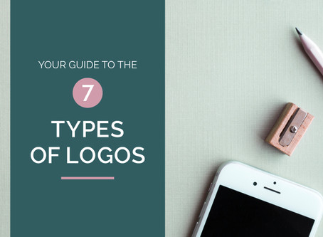 YOUR GUIDE TO THE 7 TYPES OF LOGOS