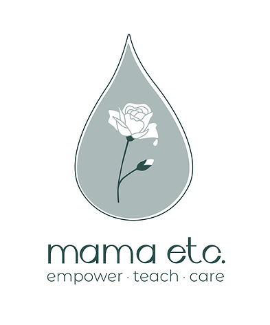 mama etc logo and tagline design