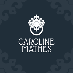 caroline mathes logo design