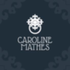 caroline mathes logo design