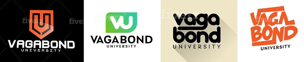 logo options for Vagabond University