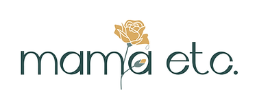 mama etc wordmark design