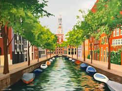 Amsterdam for Sarah 18x24