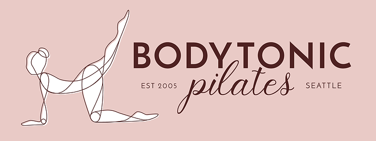 BodyTonic pilates alternate Logo design
