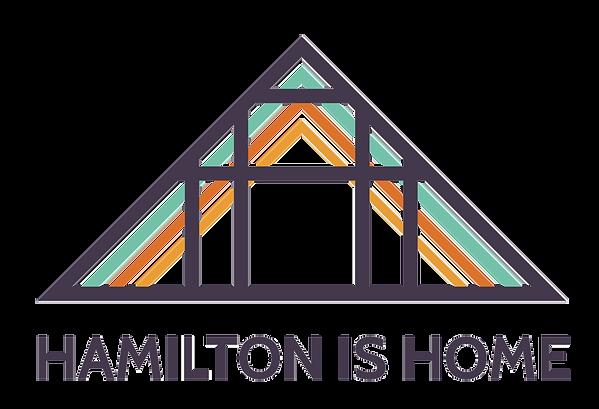 Hamilton is Home primary logo design