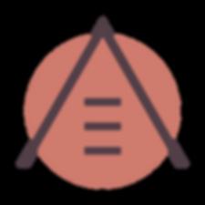 A&E branding brandmark