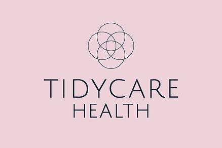 tidycare health brand design