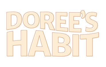 Dorees-Habit offset logo design