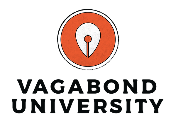 Vagabond University Logo Design stacked