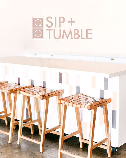 sip+tumble brand identity