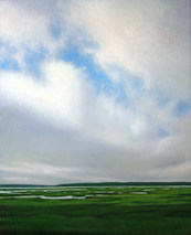 Morning Clouds Over Marsh, Stanhope, PEI