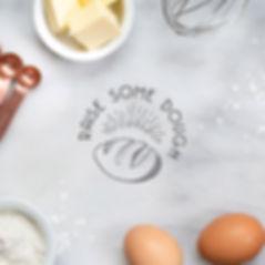raise some dough brand identity design