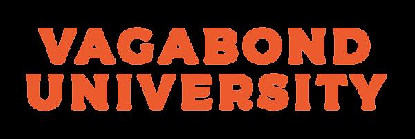 Vagabond University Wordmark
