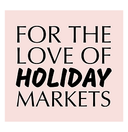 for the love of holiday markets logo