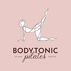 bodytonic pilates logo design