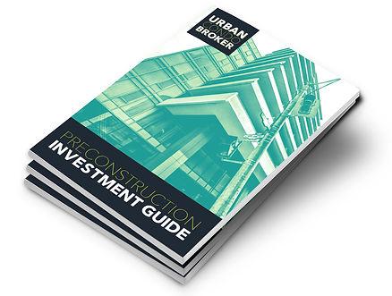 Real estate guide mock up