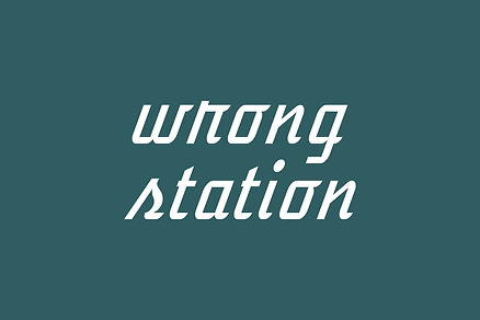 Wrong Station Podcast art