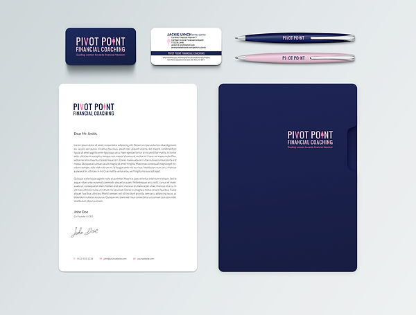 Pivot Point Financial Coaching Brand Ide