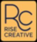 rise creative primary logo design