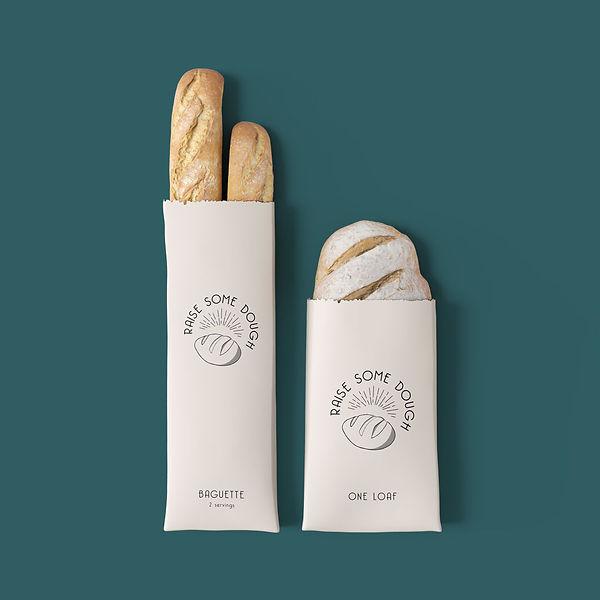 raise some dough brand identity