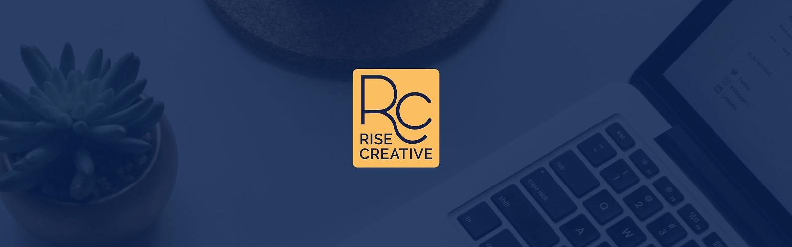 rise creative brand identity