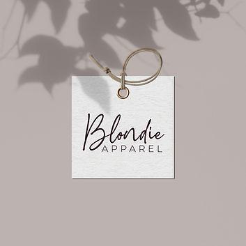 blondie apparel brand identity