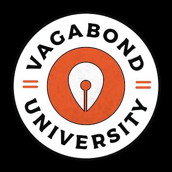 Vagabond University Logo Design