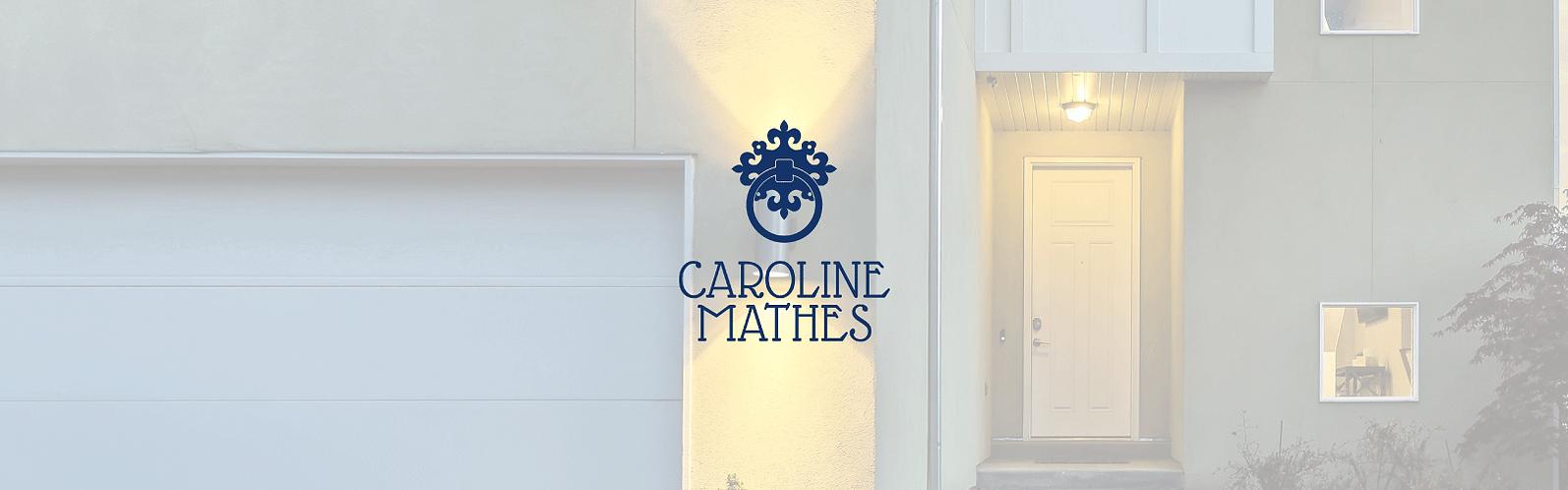 caroline mathes real estate brand