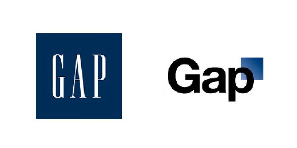 the gap rebrand