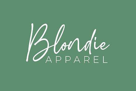 blondie apparel brand identity design