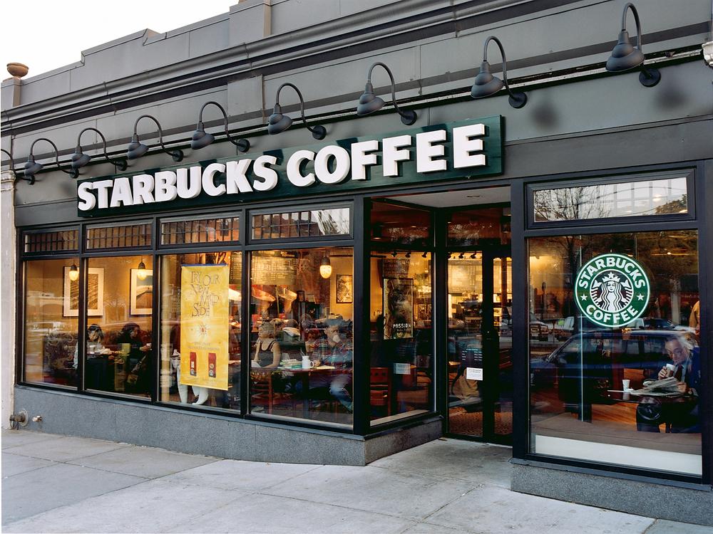 starbucks storefront sign