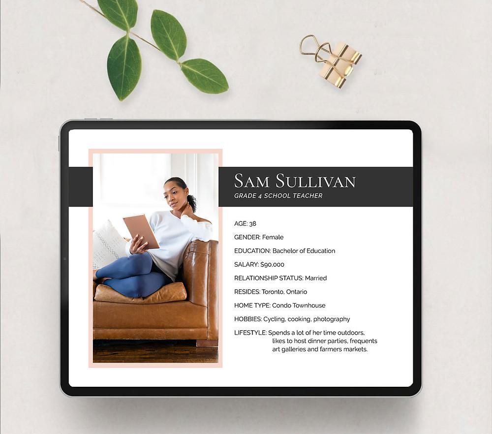 ideal customer profile example