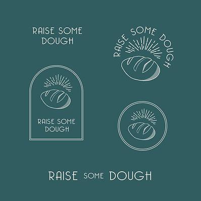 raise some dough brand identity system