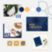 Rise Creative Brand Identity Mood Board