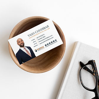 yash business cards